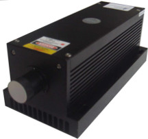 Blue Diode Pumped Solid State Laser